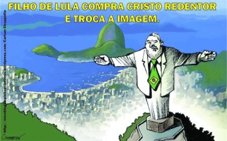 Resultado de imagem para Lula milionário: charges