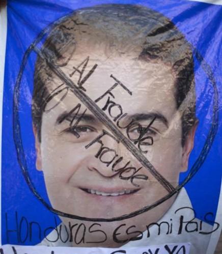 Honduras_Eleicao_Fraude
