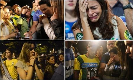 Aecistas choram e, alguns deles, irão mudar do Brasil. Felizmente.