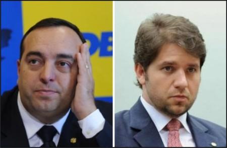 Fernando Francischini e Luiz Argolo.