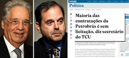 FHC e seu ex-genro David Zylberstajn tentaram dar a Petrobras para os gringos.