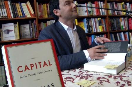 Economista e escritor Thomas Piketty.