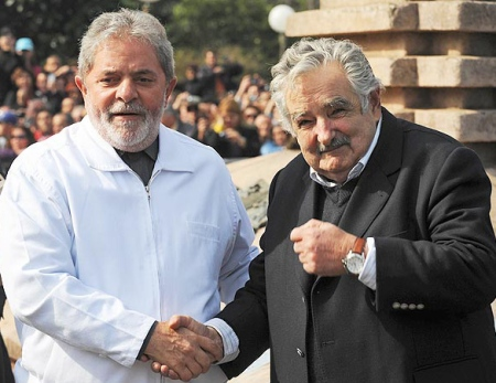 BRAZIL-URUGUAY-LULA-MUJICA