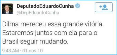 Eduardo_Cunha_PMDB86_Tuite_Dilma