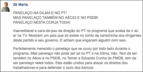 PSTU_Ze_Maria_Twitter