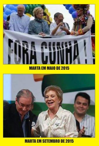 As 10 frases de Marta em sua filiação no PMDB mostram que ...