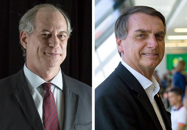 Resultado de imagem para Bolsonaro e Ciro