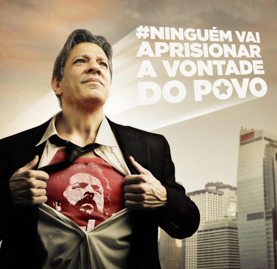 Resultado de imagem para haddad ultrapassa Bolsonaro e lidera