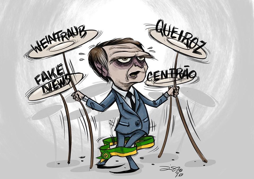 Se sua mulher for presa, Queiroz fala tudo sobre o clã Bolsonaro ...